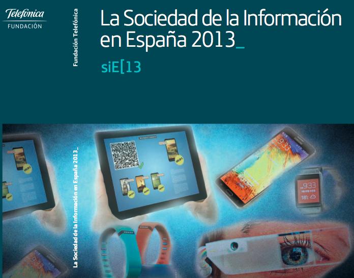 Portada estudio Sociedad de la Información España